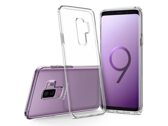 Etui spigen liquid crystal samsung galaxy s9+ plus clear
