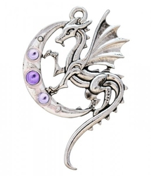 Luna dragon - naszyjnik