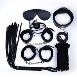 Zestaw do zniewolenia dla początkujących 7 części czarny | 100 dyskrecji | bezpieczne zakupy
