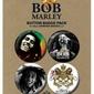 Bob Marley Photos - zestaw 4 przypinek