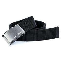 Czarny pasek do spodni parcianka brodrene p01 graphite