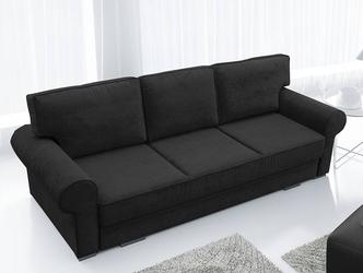 Nowoczesna rozkładana sofa chester z pojemnikiem na pościel