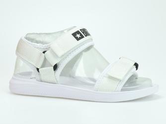 Sandały  piankowe big star hh274a026 białe