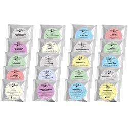 Herbata dla mamy w kwiecistym pudełku  - prezent upominek z 20 smakami herbat na dzień matki 18x5g, 2x8g