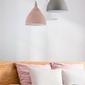 Duża, różowa, pojedyncza lampa wisząca bellevue maytoni modern p535pl-01pn