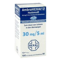 Ambrohexal s hustensaft 30 mg5 ml
