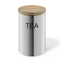 Zack - pojemnik na herbatę cera - matowy - 1 l