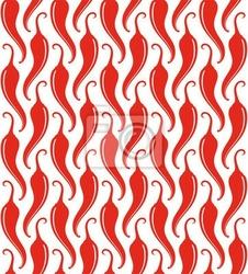 Naklejka papryka chili. wzorzec
