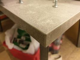 Nowoczesny rozkładany stół borys bis na metalowych nogach  130-250 cm