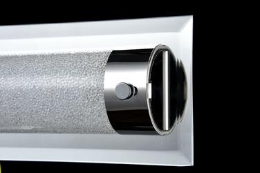 Lampa ścienna  sufitowa, chromowana podstawa plasma maytoni modern c444-wl-01-13w-n