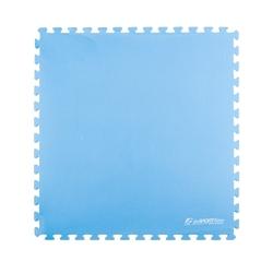 Mata puzzle eva40 niebieska - insportline - niebieski