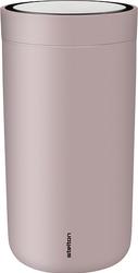 Kubek termiczny stalowy To Go Click 0,2 l lawendowy