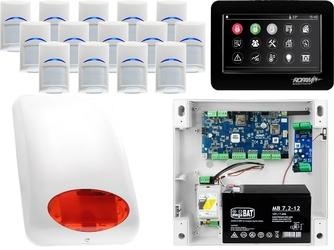 Zestaw alarmowy ropam neogsm-ip 14 x czujka bosch manipulator dotykowy tpr-4bs wifi gsm