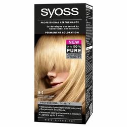 Syoss Color, farba do włosów, 9-1 bardzo jasny blond