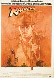 Indiana Jones - Raiders of the Lost Ark - plakat