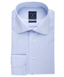 Elegancka błękitna koszula męska normal fit 46