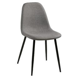 Krzesło do jadani Sonia szary