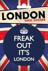 London Freak Out - naklejka