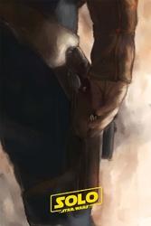 Star wars gwiezdne wojny - han solo - plakat premium wymiar do wyboru: 40x50 cm