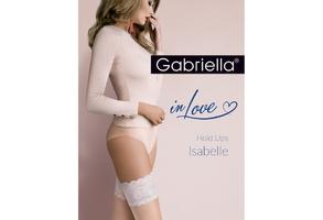 Isabelle 472 plus size 56 gabriella pończochy samonośne do ślubu