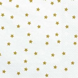 Serwetka do decoupge 33x33 cm - gwiazdki