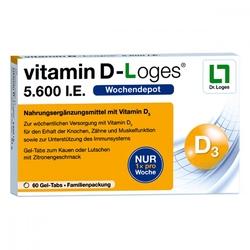 Witamina d-loges 5.600 i.e. tabletki do ssania