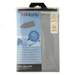 Brabantia - pokrowiec na deskę do prasowania 135 x 45cm - pianka 2mm - srebrny