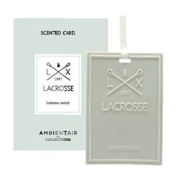 Kartka zapachowa thermal water lacrosse - thermal water