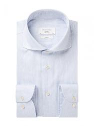 Męska niebieska koszula dobby 37
