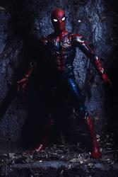 Iron spider-man - plakat wymiar do wyboru: 70x100 cm