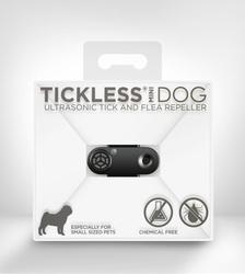 Ultradźwiękowy odstraszacz kleszczy tickless pet mini dla zwierząt - czarny m01bl