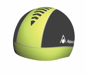 Aquasphere czepek skull cap i, yellow-black