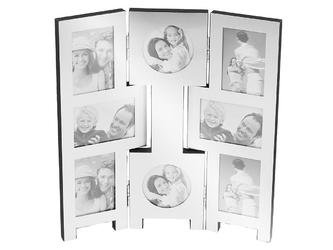 Multiramka na 8 zdjęć chrzest urodziny grawer