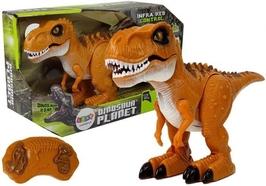 Dinozaur zdalnie sterowany rc dźwięk światło tyranozaur