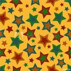 Obraz na płótnie canvas czteroczęściowy tetraptyk odważne granice gwiazd