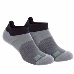 Skarpety inov-8 all terrain sock low. dwupak. czarno-szare.