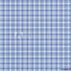 Obraz na płótnie canvas czteroczęściowy tetraptyk niebieski biały pled