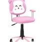 Fotel dziecięcy kitty różowy