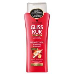 Gliss kur color shineprotect, szampon do włosów, 400ml