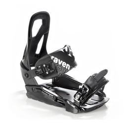 Wiązania snowboardowe raven s200 black 2020