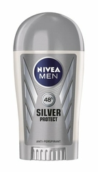 Nivea For Men Silver Protect, dezodorant, sztyft 40ml