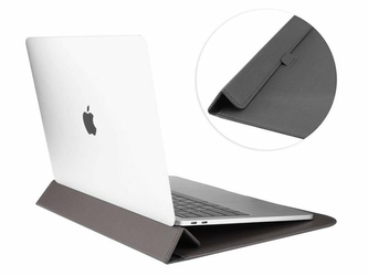 Etui teczka Alogy Sleeve do Macbook Air  Pro  Retina 13.3 Szare - Szary