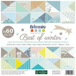 Papier do scrapbookingu 30x30cm Best of winter
