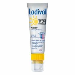 Ladival Aktiv Sonnenschutz für Gesicht und Lipp. Lsf30