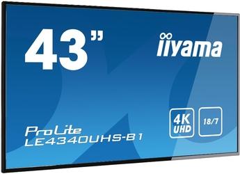 Monitor LED IIYAMA LE4340UHS-B1 4K 43 - Szybka dostawa lub możliwość odbioru w 39 miastach