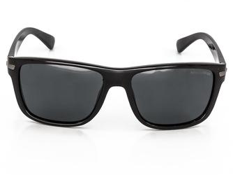 Okulary klasyczne czarne POLARYZACJA