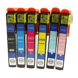 Tusze zamienniki t2438 do epson c13t24384010 komplet - darmowa dostawa w 24h