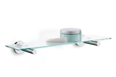Półka łazienkowa szklana Scala z efektem lustra