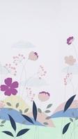 Tapeta panel delikatne kwiatki marburg 45911