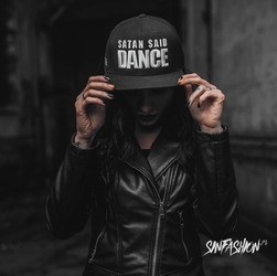 Czapka holy blvk satan said dance